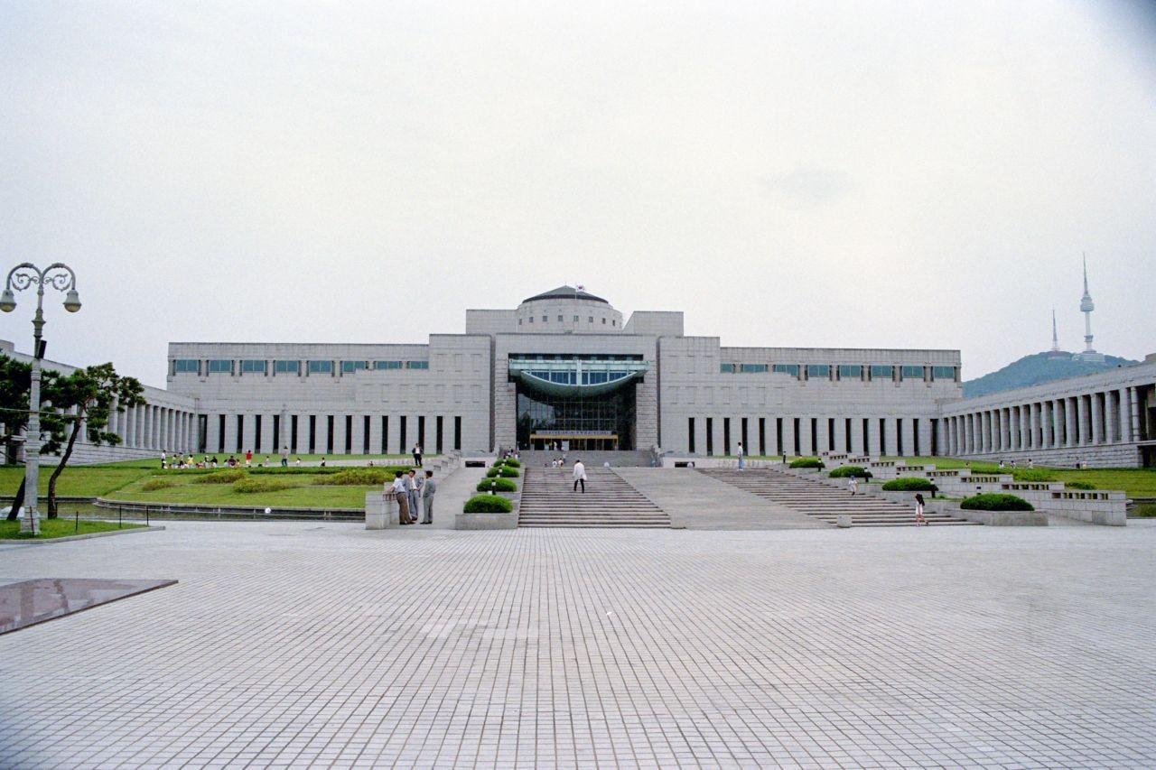 South Korea Travel Blog 1998 Part 2: War Memorial of Korea