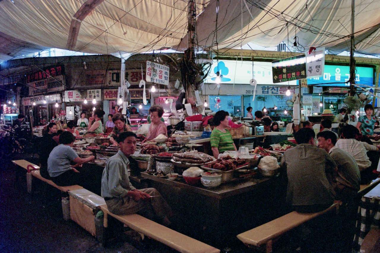 South Korea Travel Blog 1998 Part 5: Noryangjin Fisheries Wholesale Market